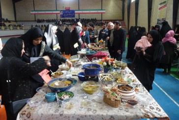 جشنواره آشپزی کدبانوی آریایی در مریانج برگزار شد