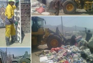 تشدید برخورد با سد معبر واحدهای غیر مجاز جمع آوری پسماند خشک در جاده انصار