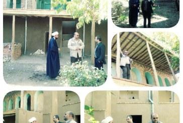 بازدید اعضای شورای شهر از عمارت گلستان