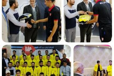 حضور رئیس شورای شهر در اردوی تیم شهرداری مریانج