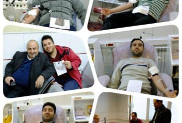 اهدای خون توسط کارمندان شهرداری مریانج