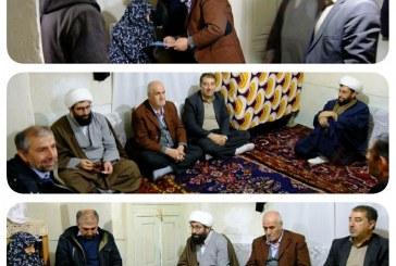 دیدار شهردار و اعضای شورای شهر با خانواده شهید خانمحمدی