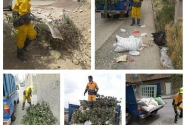 جمع آوری نخاله های رها شده در شهر به صورت هفتگی